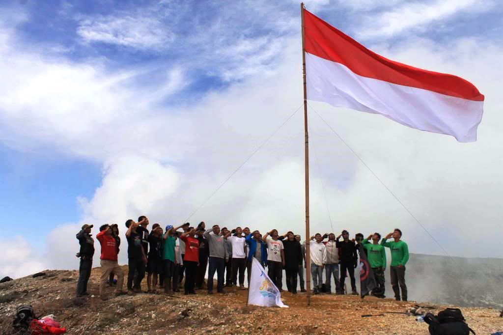 Kata kata Indah Gambar DP BBM Bendera Merah Putih